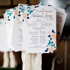 church programs for wedding orders of service church house flora vintage and