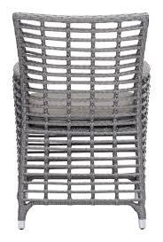 Outdoor Modern Dining Chair Sandbanks Dining Chair By Zuo Modern Modern Outdoor Chair Cressina