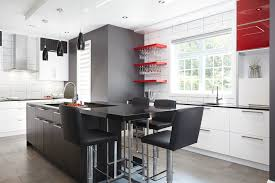 configuration cuisine rénovation de cuisine contemporaine multifonctionnelle
