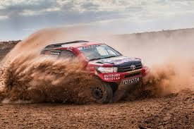 official nasser al attiyah will drive a toyota in dakar 2017