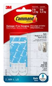 command bath assorted refill strips