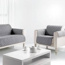 protége canapé protège canapé 3 places gris les ateliers du linge achat vente