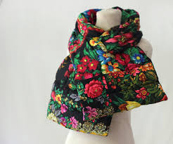 mulberry whisper russian scarf seen anew a puffer scarf in
