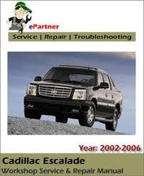 2003 cadillac escalade repair manual cadillac srx service repair manual pdf year 2004 2008 click here