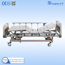 used hospital beds for sale three crank manual hospital bed with abs bedboard hospital bed