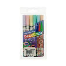 decocolorr paint marker fine marvy uchida