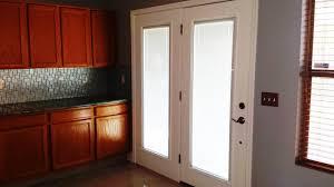 french door blinds inside door decoration