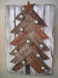 wooden christmas decorations ne wall