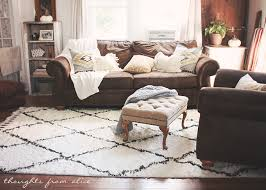 boho chic living room makeover finding the perfect rug chic