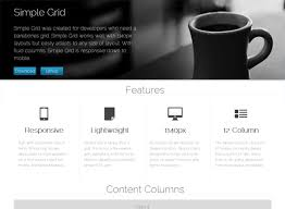 web layout grid template 13 best responsive css grid systems for your web designs responsive