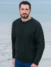 cable knit sweater mens cable sweater aran sweater market