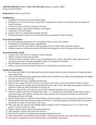 Sample Resume Mental Health Counselor 8 summer camp counselor resume resume camp counselor skills