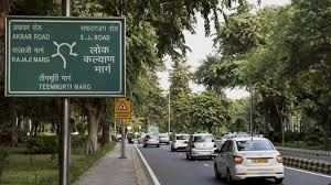 delhi govt to install new sign boards with names numbers of