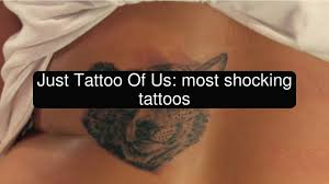 just tattoo of us most shocking tattoos youtube