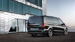 brabus mercedes v class is for mixing business with pleasure