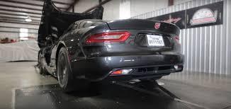 Dodge Viper V10 - hennessey u0027s 700 hp dodge viper lands on dyno sounds like a v10