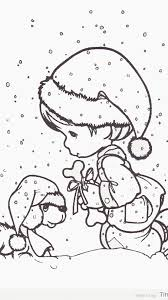 precious moments christmas coloring pages timykids