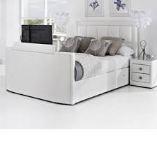 Kingsize Tv Bed Frame King Size Tv Bed Frame Chairs Ovens Ideas