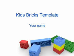 free building blocks powerpoint template mershia info