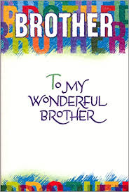 amazon com blue mountain arts brother birthday greeting card to