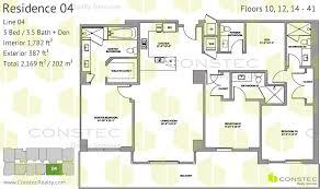 floors plans brickell city centre floor plans
