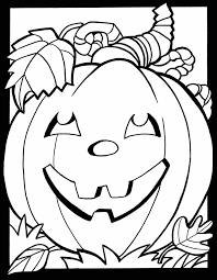 fall coloring pages kids printable exprimartdesign