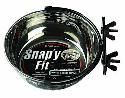 pet supplies midwest homes for pets snap u0027y fit food bowl pet