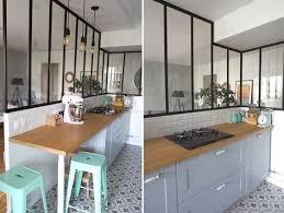 et cuisine home home tour ma cuisine semi ouverte avec verrière déco open