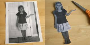 dressing up personalized paper dolls make and takes