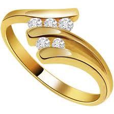 golden rings online images Spiral splendour diamond rings surat diamond jewelry jpg