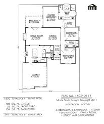 One Story Two Bedroom House Plans 12 2 Bedroom Bathroom House Plans Story 1 Car Garage Enjoyable