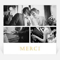 faire part de remerciement mariage remerciements mariage sur monfairepart