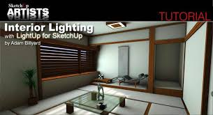 tutorial sketchup modeling interior lighting with lightup for sketchup sketchup 3d rendering