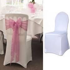 housses de chaises mariage housse de chaise pour communion fleurs de dragées