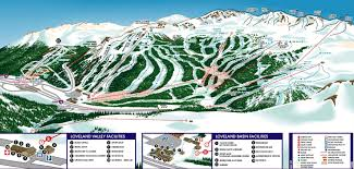 Keystone Resort Map Loveland And Winter Park Co I 70 Outliers Ny Ski Magazine