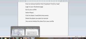 Maps Timeline How To Remove Location From Facebook Timeline Map Youtube