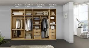 Schlafzimmerschrank Variabel Endlossystem Für Kleiderschränke Mit Drehtüren I Betten De