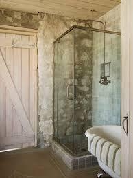 Log Home Bathroom Ideas Colors Wall Glass Shower Rustic Bath Industrial Design Bathroom Tile