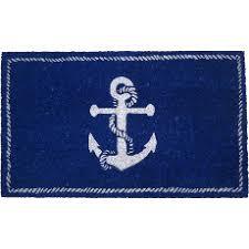 Coco Doormat Nautical Doormat Coastal And Beach Themed Doormats