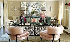 Animal Print Storage Ottoman Furniture Zebra Print Coffee Table And Zebra Ottoman
