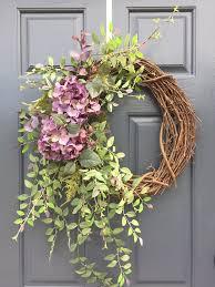 best 25 purple wreath ideas on hydrangea wreath