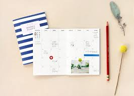 design planner iconic design a6 monthly planner v 2 sticker stack