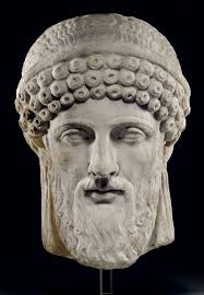 a roman marble archaistic head of dionysos art u0026 collections