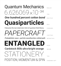 Best New Font For Resume by Typography Style Material Design