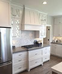 Best  Glass Kitchen Cabinets Ideas On Pinterest Kitchens With - Kitchen cabinets and countertops ideas