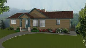 Ranch Rambler by Home Designs House Plans With Walk Out Basements House Plans