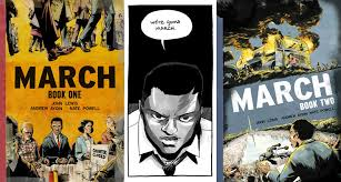 march book two review of march book one and march book two by lewis and