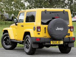 yellow jeep used 2015 jeep wrangler 2 8 crd x edition hard top 4x4 2dr for