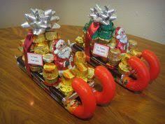 christmas candy bouquets christmas santa pail bouquet bouquets