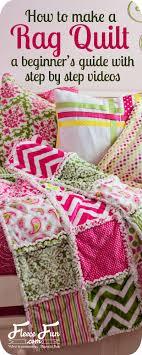 how to make a rag quilt easy beginner s guide fleece